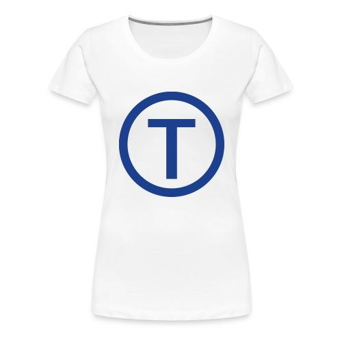 techwiz logo - Women's Premium T-Shirt