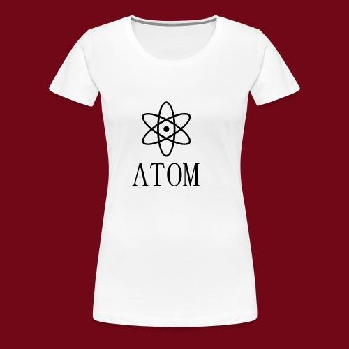 atom - Frauen Premium T-Shirt