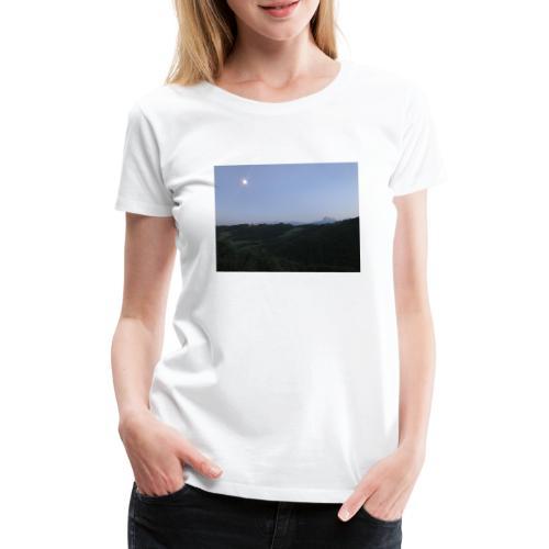 Paesaggio con luna - Maglietta Premium da donna
