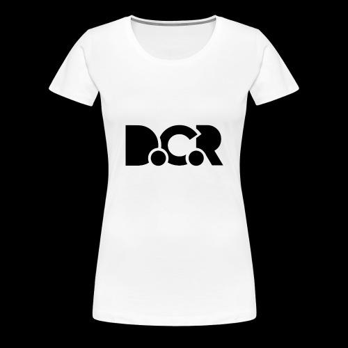 T-Shirts D.C.R - T-shirt Premium Femme