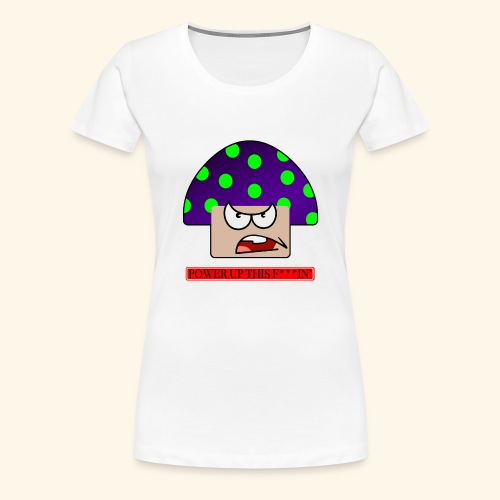 Angry mushroom - Maglietta Premium da donna