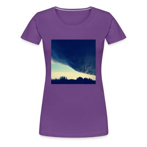 Be The Storm - Naisten premium t-paita
