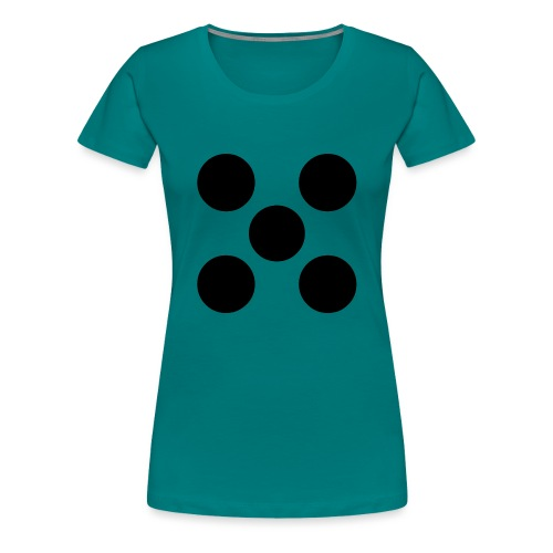 Dado - Camiseta premium mujer