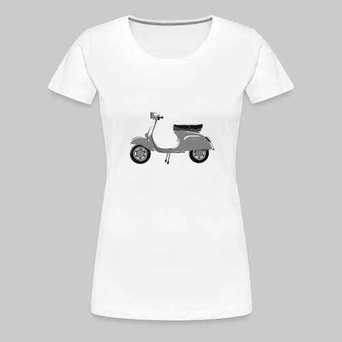 Classic scooter greys - Women's Premium T-Shirt