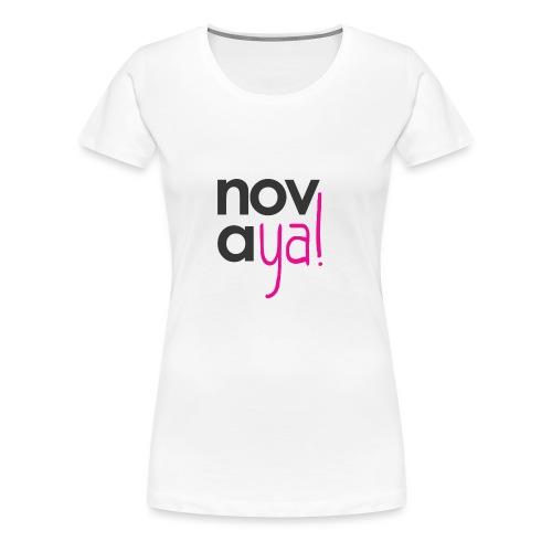 Logo Novaya! - T-shirt Premium Femme