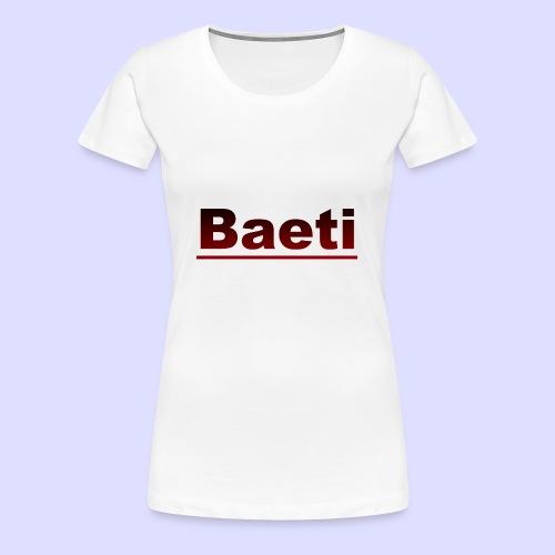 Baeti - Vrouwen Premium T-shirt