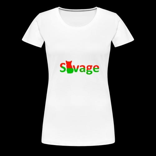 Savage Christmas Edition - Women's Premium T-Shirt