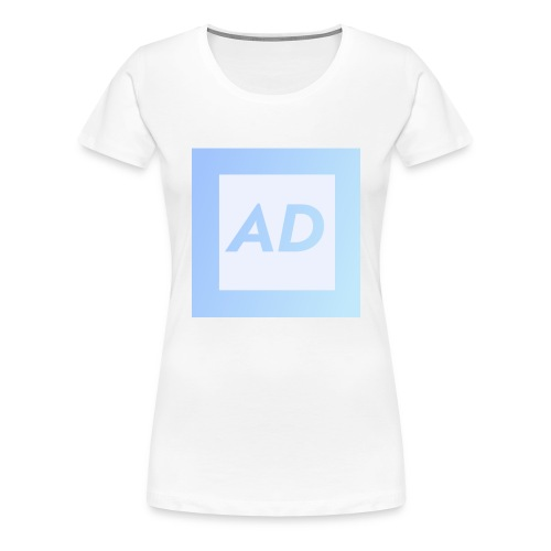 Blue Logo - Women's Premium T-Shirt
