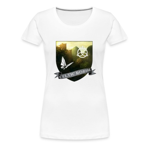 Blason logo de la chaîne - T-shirt Premium Femme