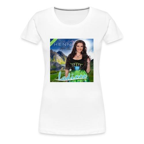 Ladiooo mit Unterschrift - Frauen Premium T-Shirt