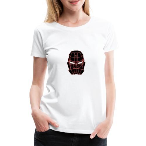 rouge masque spatial - T-shirt Premium Femme