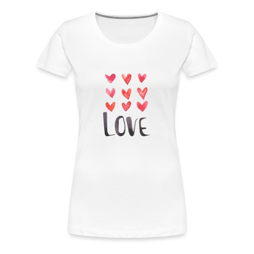 9xlove - T-shirt Premium Femme