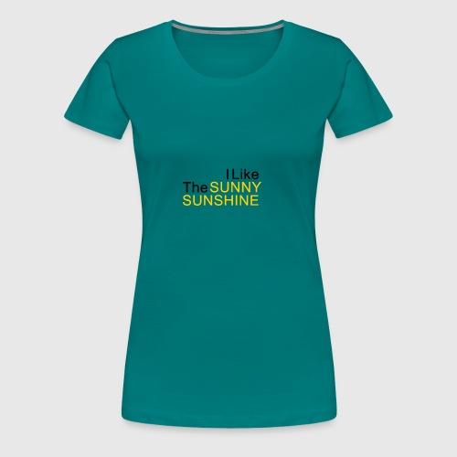 Sunny Sunshine... - Vrouwen Premium T-shirt