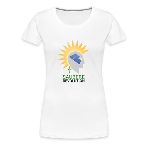 Saubere Revolution mit erneuerbarer Energie! - Frauen Premium T-Shirt