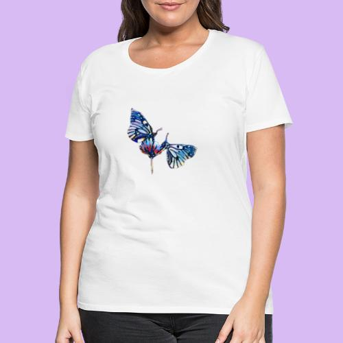 Coppia di farfalle - Maglietta Premium da donna