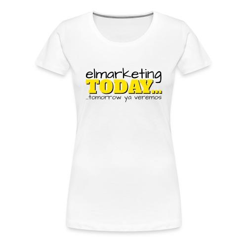 LOGOTIPO - Camiseta premium mujer