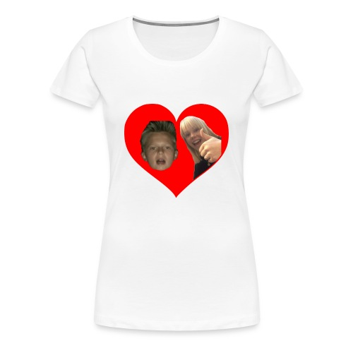 Sebber in love - Dame premium T-shirt