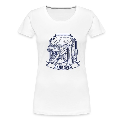 T Rex - Camiseta premium mujer