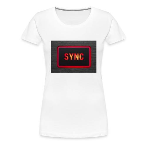 sync2 - Premium T-skjorte for kvinner
