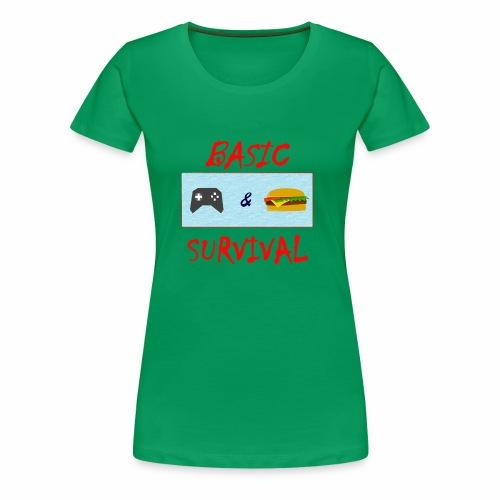 Basic Survival - Women's Premium T-Shirt