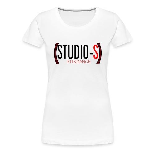 Basic logocut tanktop - Vrouwen Premium T-shirt