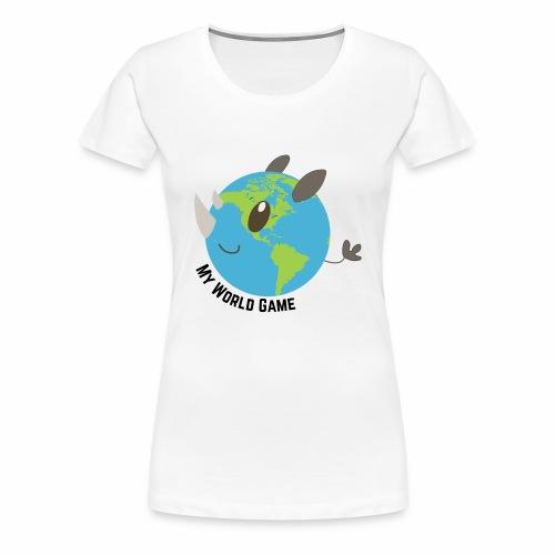 Rhinocéros blanc - T-shirt Premium Femme