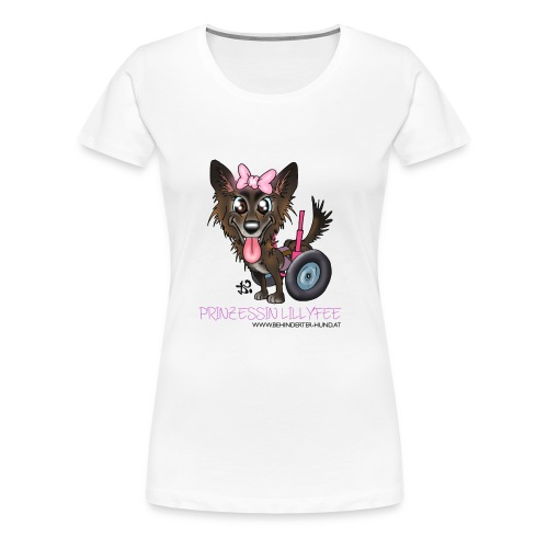 lilly transp 02 hell kopie - Frauen Premium T-Shirt