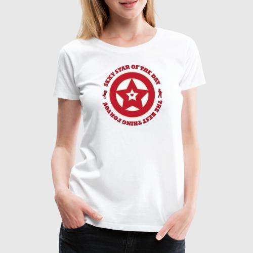 star png - Dame premium T-shirt