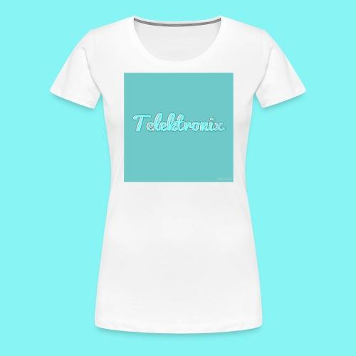 Telektronix Merch - Women's Premium T-Shirt