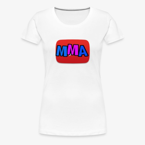 MMA Logo - Premium T-skjorte for kvinner