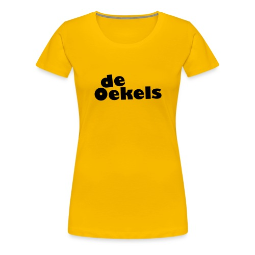 DeOekels t-shirt - Vrouwen Premium T-shirt