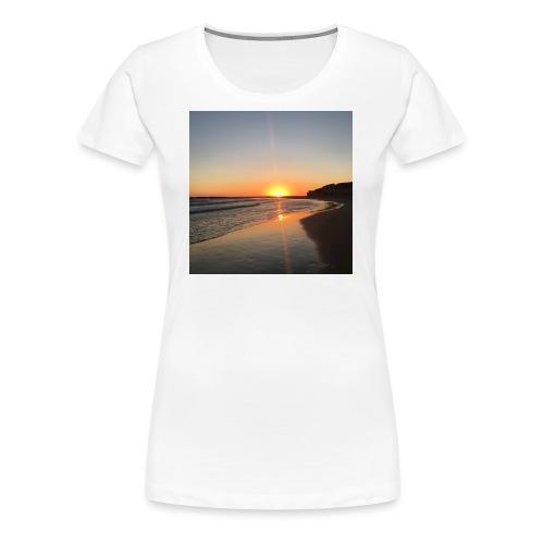 coucher de soleil - T-shirt Premium Femme