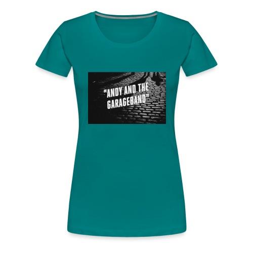 Black and White - Premium T-skjorte for kvinner