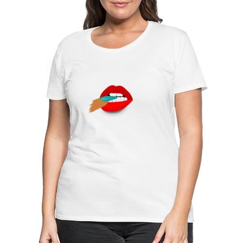 LUSTFUL KISS by BLUEBLUE - Women's Premium T-Shirt