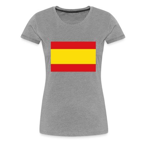 vlag van spanje - Vrouwen Premium T-shirt