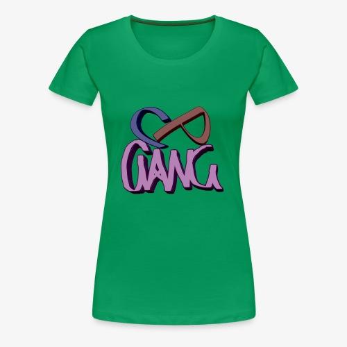 CP-GANG - Naisten premium t-paita