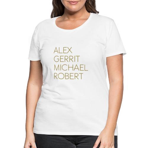 AGMR Rot Tasse - Frauen Premium T-Shirt