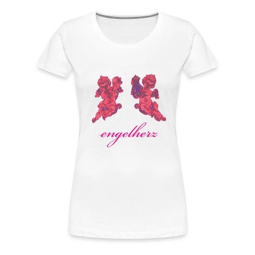 2engelschrift - Frauen Premium T-Shirt