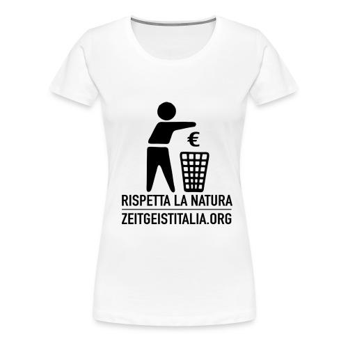 rispettanatura - Maglietta Premium da donna