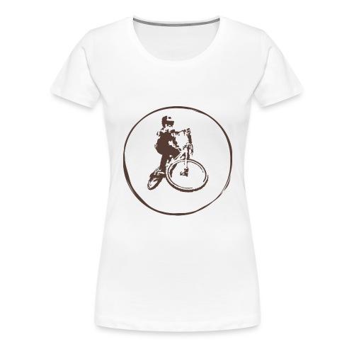 Mountain Bike Shirt - Women's Premium T-Shirt