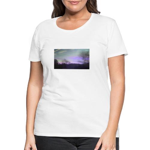 lilac sky - Dame premium T-shirt