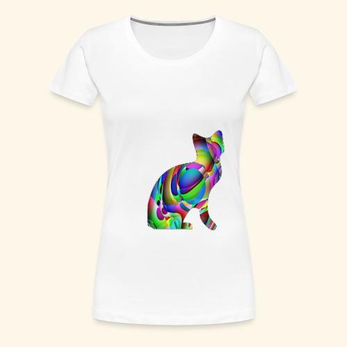 chat joueur - T-shirt Premium Femme