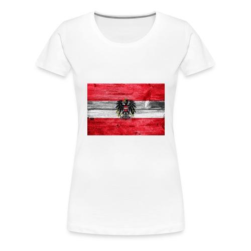 Austria Holz - Frauen Premium T-Shirt