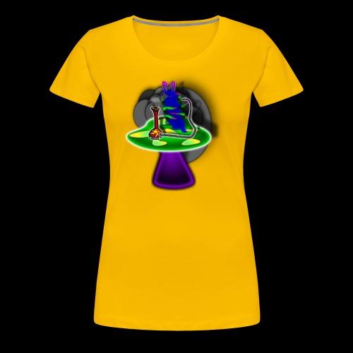 Hookah rauchende Raupe - Frauen Premium T-Shirt