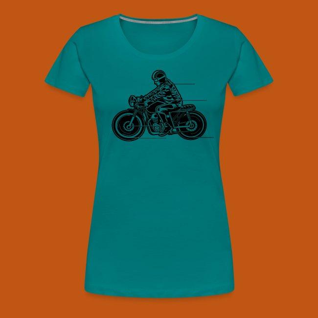 Cafe Racer Motorrad 04_schwarz