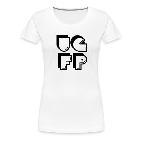 UG FP Acronym (Black) - Women's Premium T-Shirt