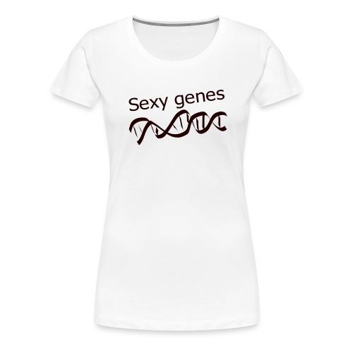 Sexy genes - Genetics - Women's Premium T-Shirt