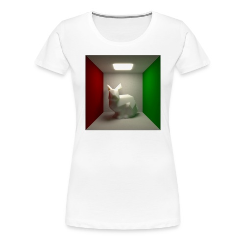 Bunny in a Box - Women's Premium T-Shirt