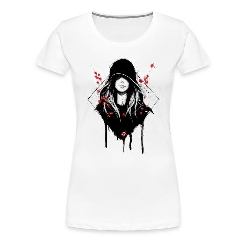 Cover Schwarz Rot Trans - Frauen Premium T-Shirt
