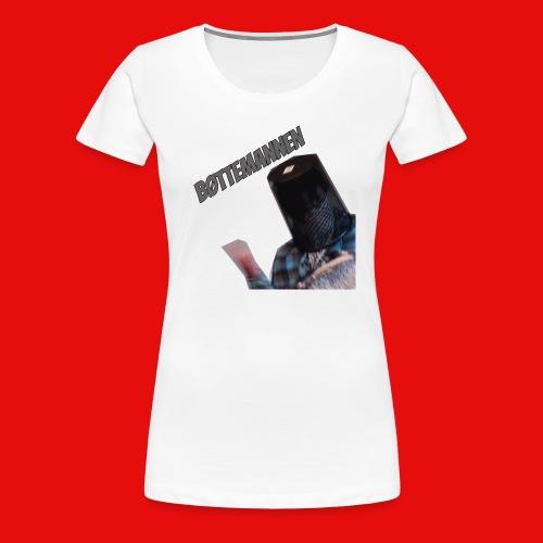 Bøttemannen - Premium T-skjorte for kvinner